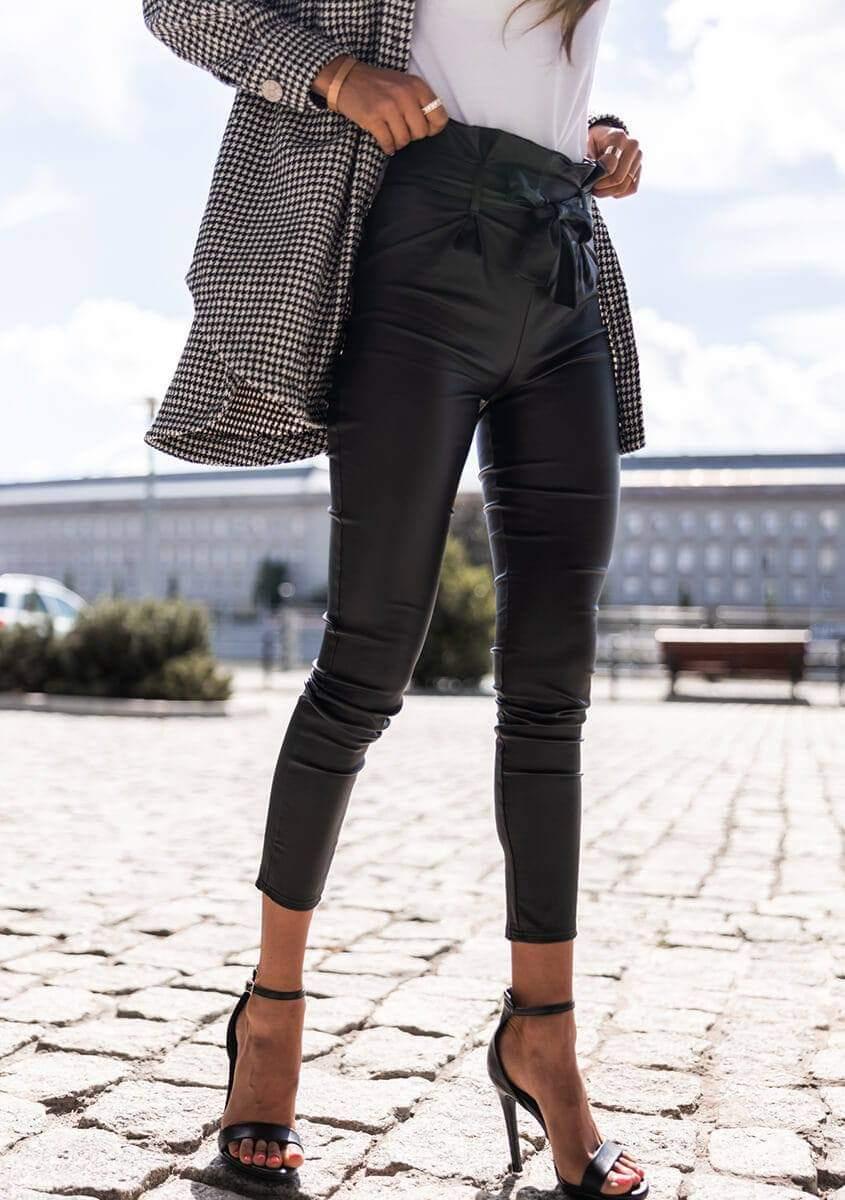 Dámske čierne nohavice (Dámske čierne nohavice)