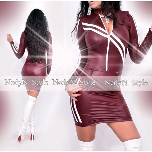 Dámske bordové šaty (Dámske bordové šaty)