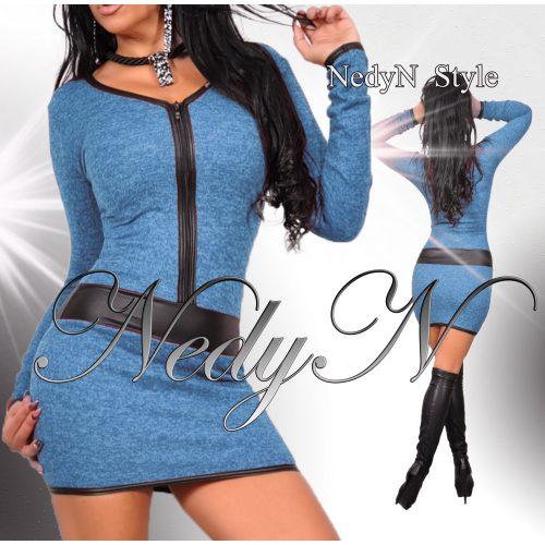 Dámske modré šaty (Dámske modré šaty)