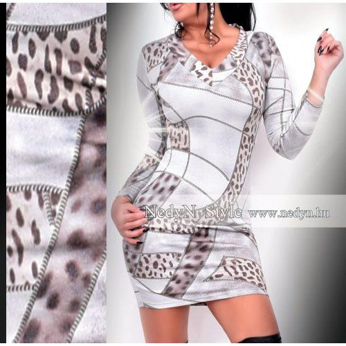 Dámske vzorované šaty (Dámske vzorované šaty)