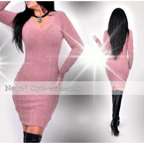 Dámske pletené staroružové šaty (Dámske pletené staroružové šaty)