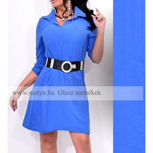 Dámske modré košeľové šaty (Dámske modré košeľové šaty)