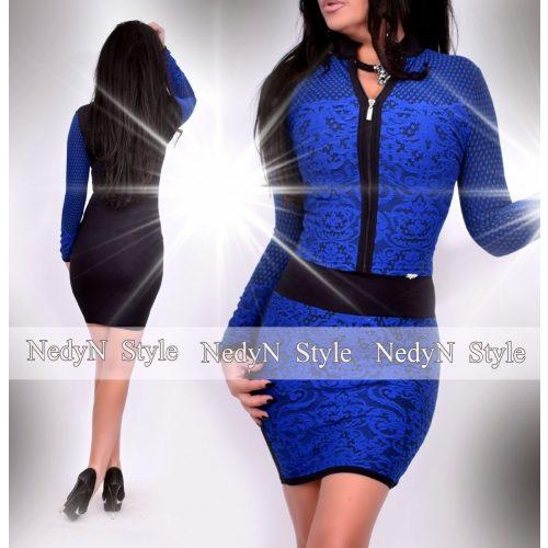 Dámske kráľovsky modré šaty (Dámske kráľovsky modré šaty)