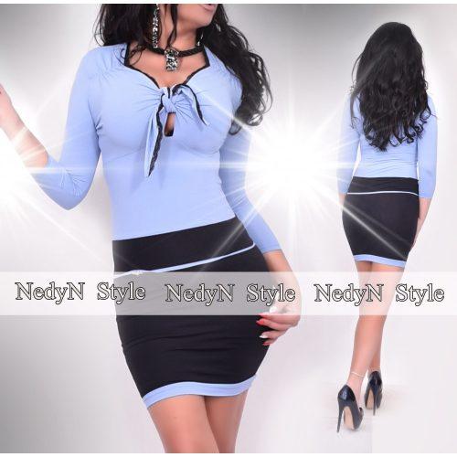 Dámske čierno-modré šaty (Dámske čierno-modré šaty)