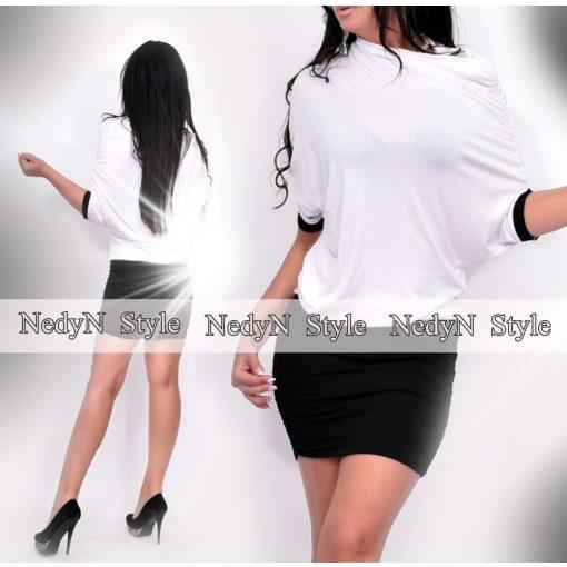 Dámske bielo-čierne šaty (Dámske bielo-čierne šaty)