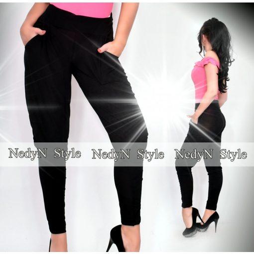 Dámske čierne nohavice s vreckami (Dámske čierne nohavice s vreckami)