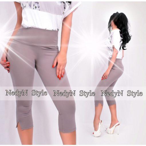 Dámske šedé nohavice capri punta (Dámske šedé nohavice capri punta)