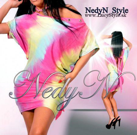Štýlové dámske minišaty,šaty- Nedyn