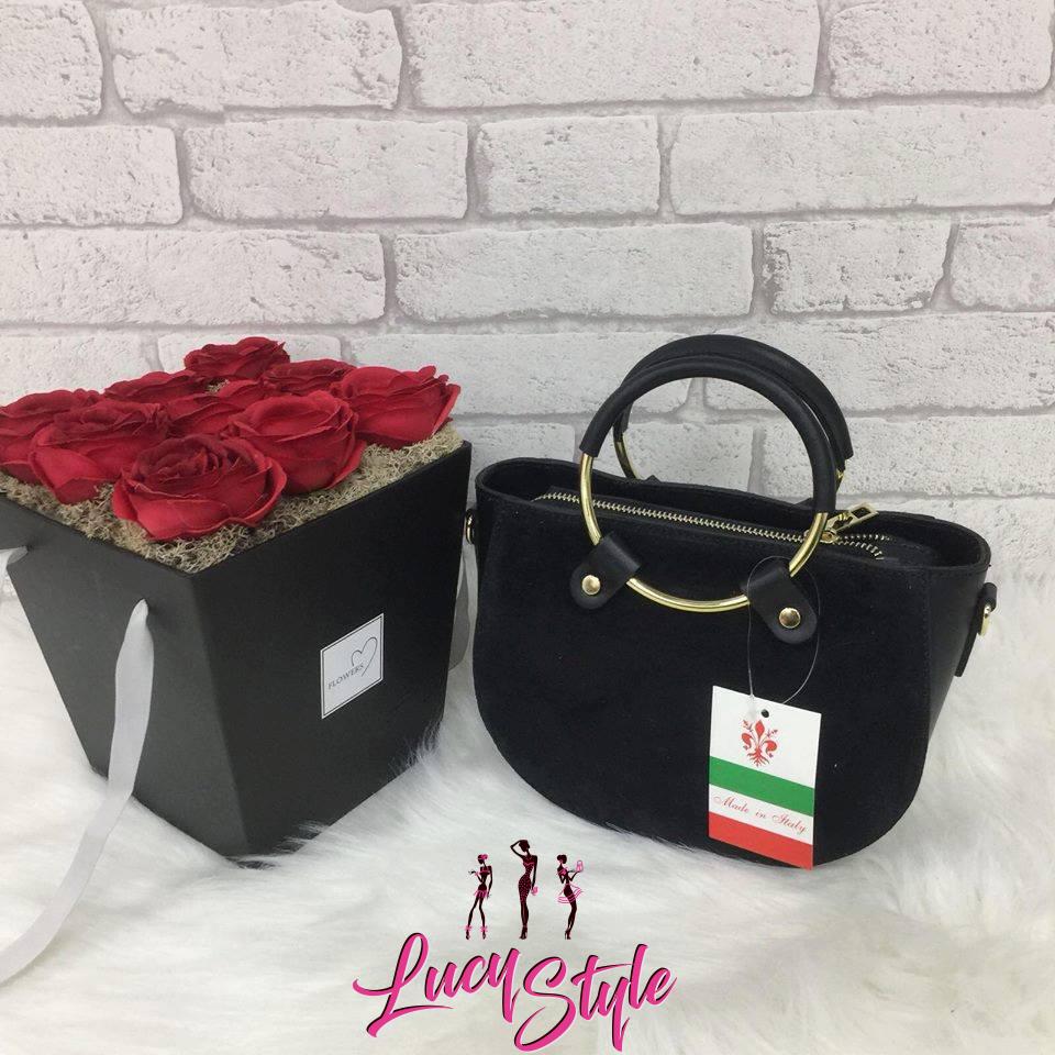 Kvalitná dámska čierna kabelka (Luxusná kvalitná dámska čierna kabelka)