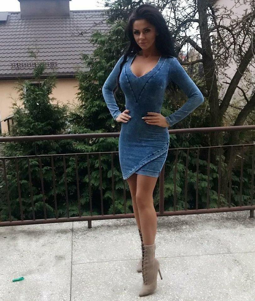 Dámske riflové šaty (Dámske riflové šaty elastické)