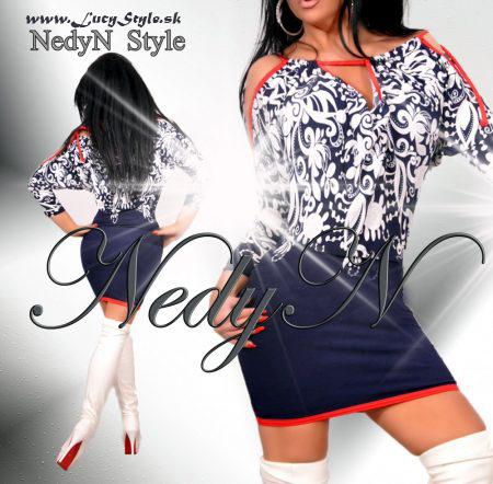 Vzorovaná dámske šaty (Vzorovaná dámske šaty )