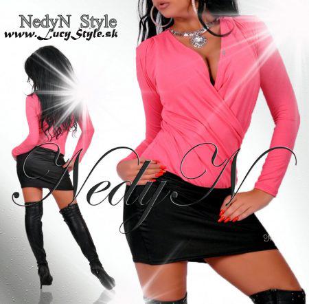 Dámske šaty,ružovo čierne (Dámske šaty,ružovo čierne)