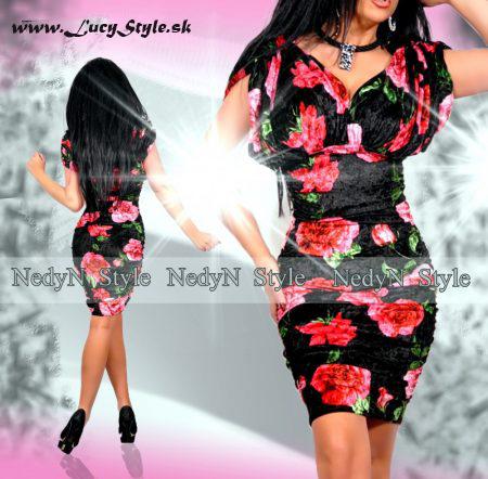 Kvetované dámske šaty (Kvetované dámske šaty )