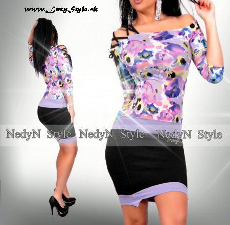 Farebné dámske šaty (Farebné dámske šaty)