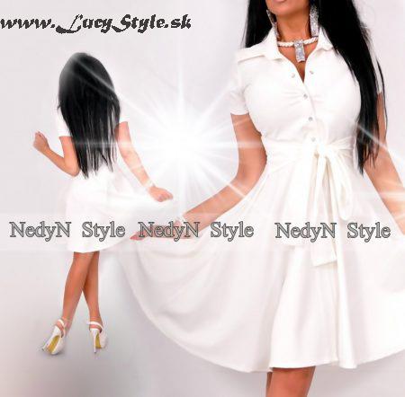 Dámske biele šaty (Dámske biele šaty )