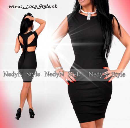Čierne dámske šaty (Čierne dámske šaty )
