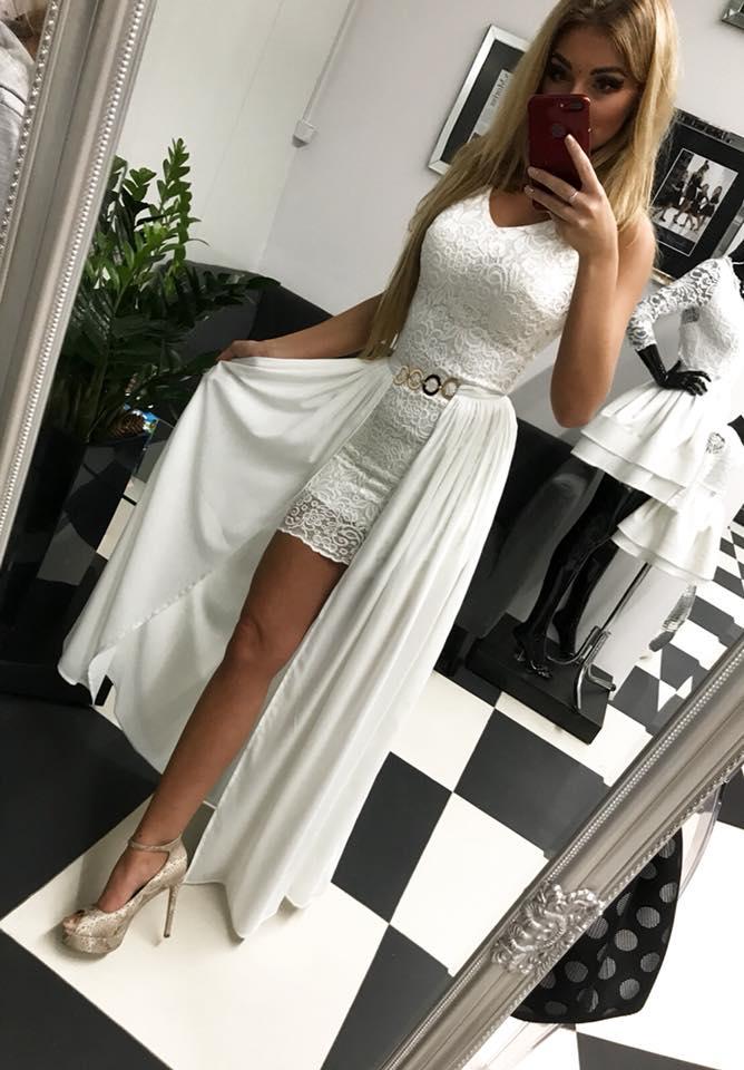 e4e61a5909 Spololočenské dámske šaty čipkované