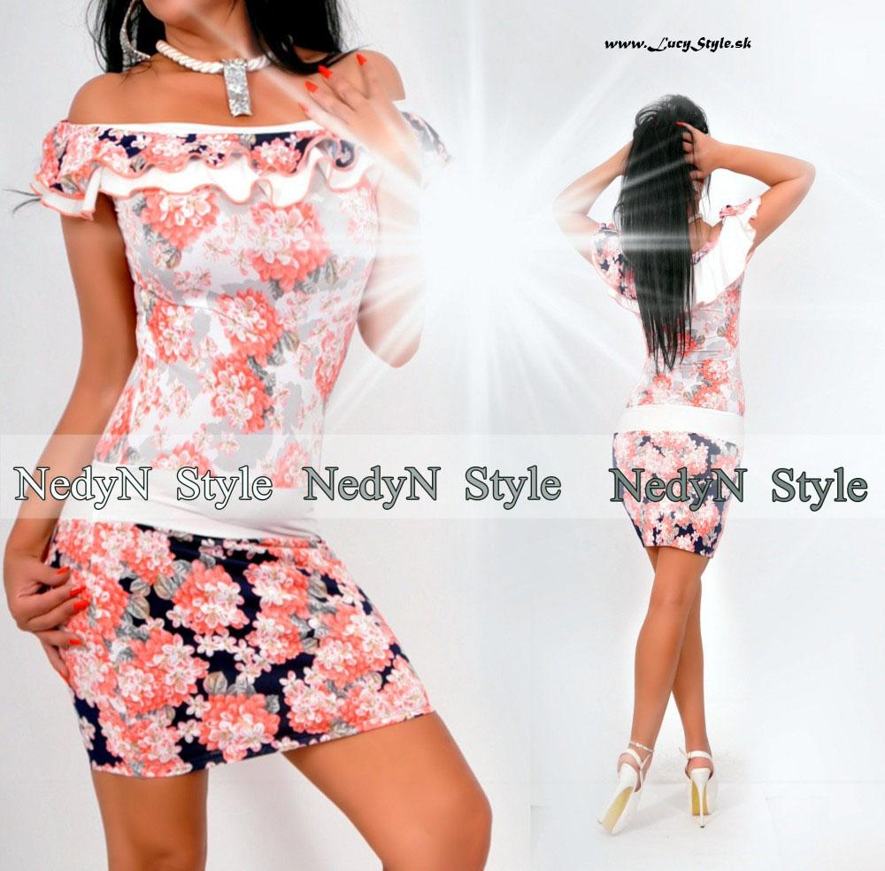 Dámske kvetované šaty (Dámske kvetované šaty)
