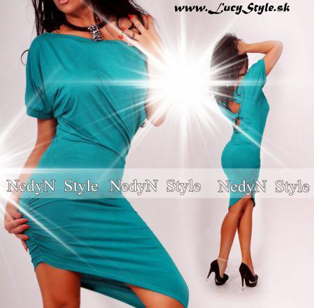 Dámske tyrkysové šaty (Dámske tyrkysové šaty )