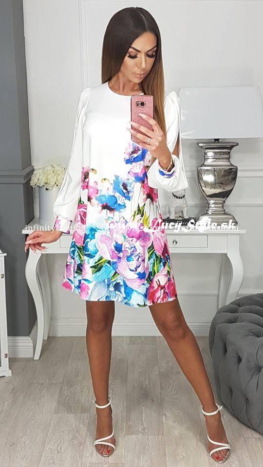 0fbafac89324 Krásne elegantné šaty volného strihu (Krásne elegantné šaty volného strihu)