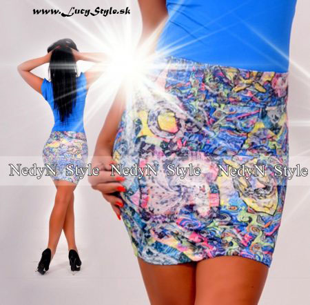 Dámska vzorovaná sukňa (Dámska vzorovaná sukňa)
