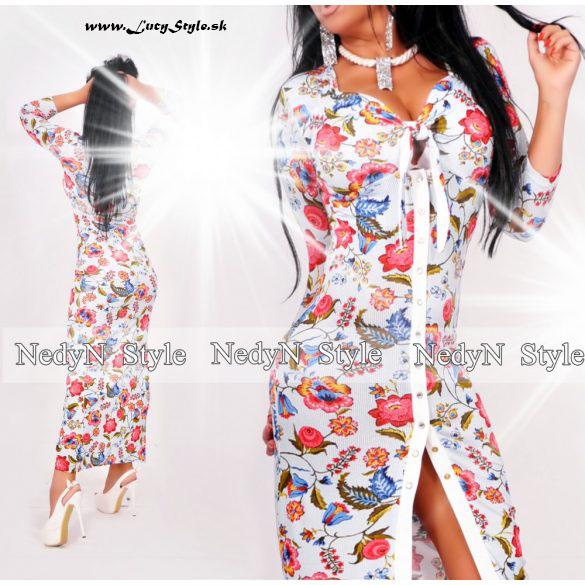 fc185ca3c0f8 Dámske kvetované maxi šaty (Dámske kvetované maxi šaty )