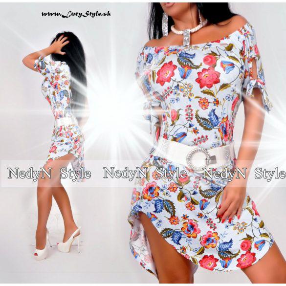 Dámske kvetované mini šaty (Dámske kvetované mini šaty )