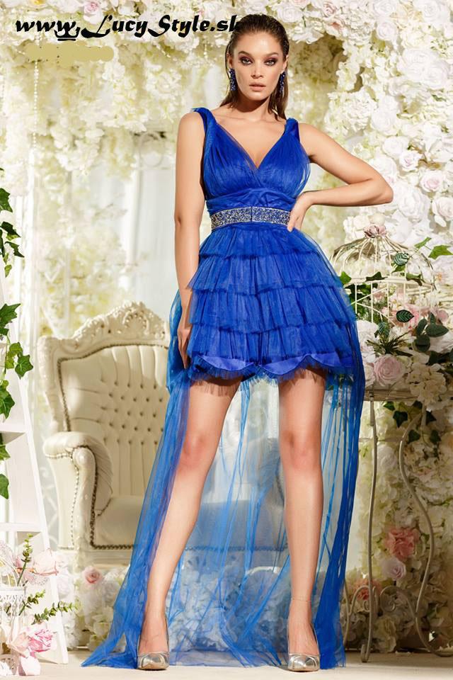 Luxusné spoločenské šaty ,modré (Luxusné spoločenské šaty ,modré)