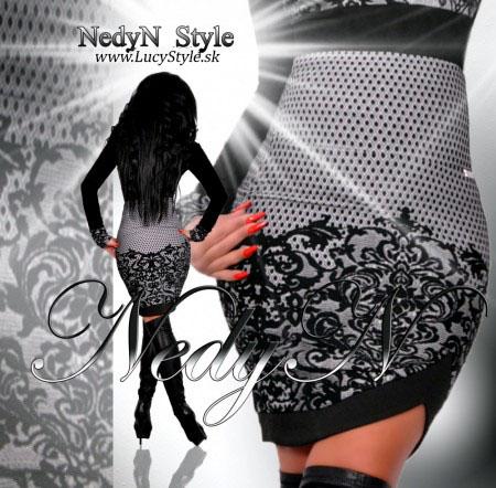 Dámska sukňa vzorovaná (Dámska sukňa vzorovaná)