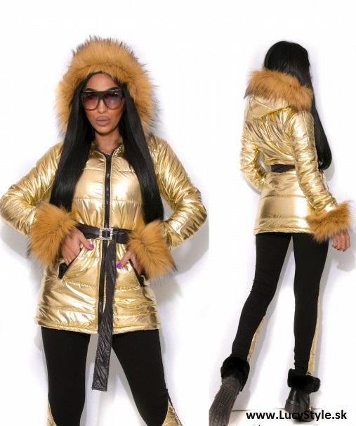 Dámska bunda s kožušinou (Dámska bunda s kožušinou)