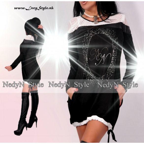 Dámske šaty voľného strihu (Štýlové dámske šaty )