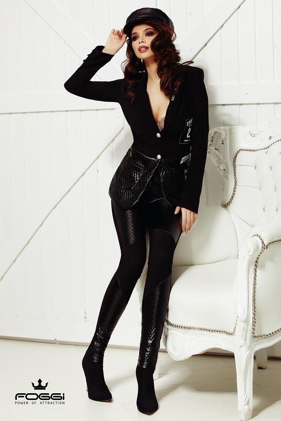 Luxusný dámsky komplet (Luxusný dámsky nohavicový kostým)