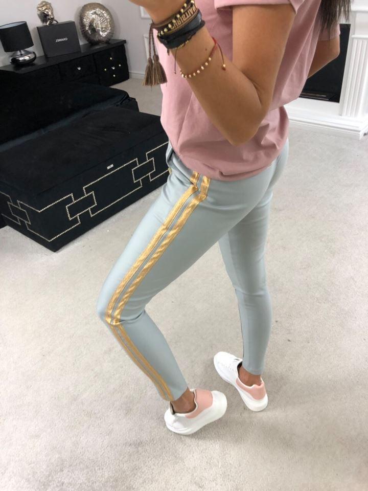 Dámske nohavice sivé (Dámske nohavice sivé)