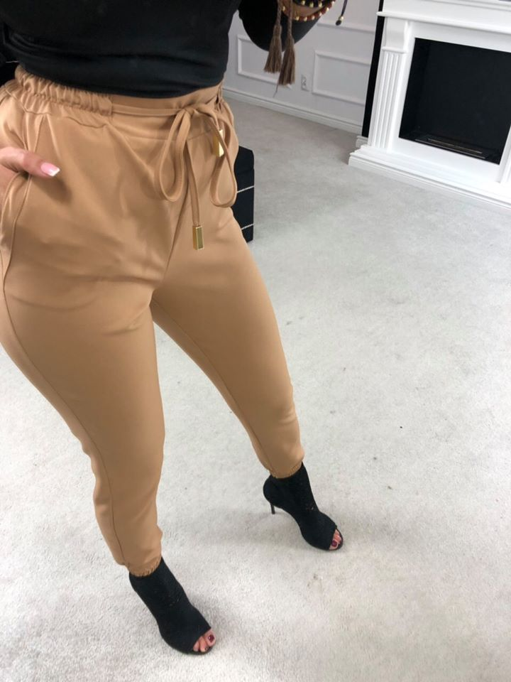 cf5aa9a25968 Dámske nohavice v hnedej farbe
