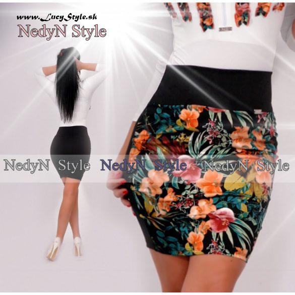 Dámska sukňa,kvetovaná (Dámska sukňa,kvetovaná)