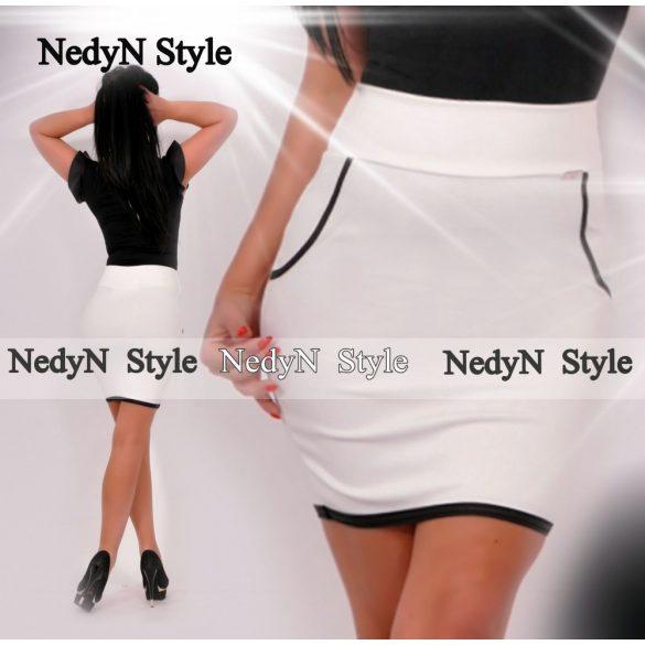 Dámska biela sukňa (Dámska biela sukňa)