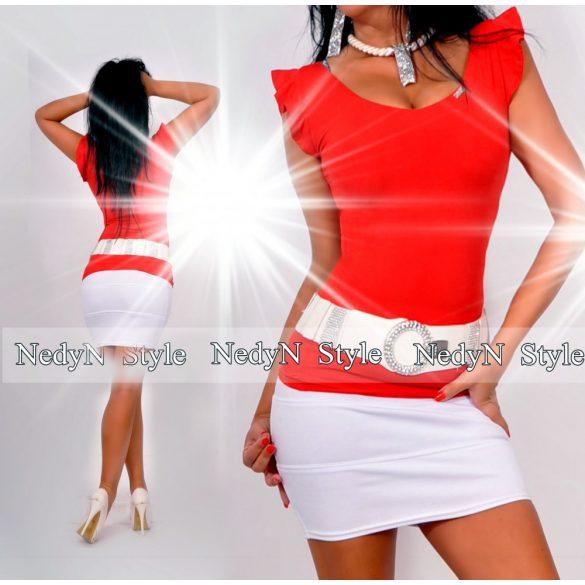 Dámske tričko (Krásne dámske tričko,jasne červené)
