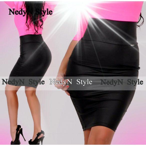 Dámska sukňa (Elegantná dámska sukňa s vysokým pásom)