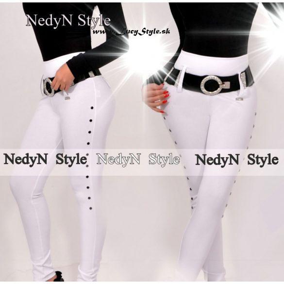 Dámske biele nohavice (Dámske biele nohavice)