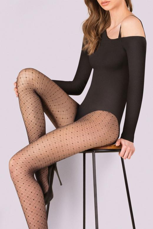 Dámske pančuchové nohavice,silonky vzorované (Dámske pančuchové nohavice,silonky vzorované)