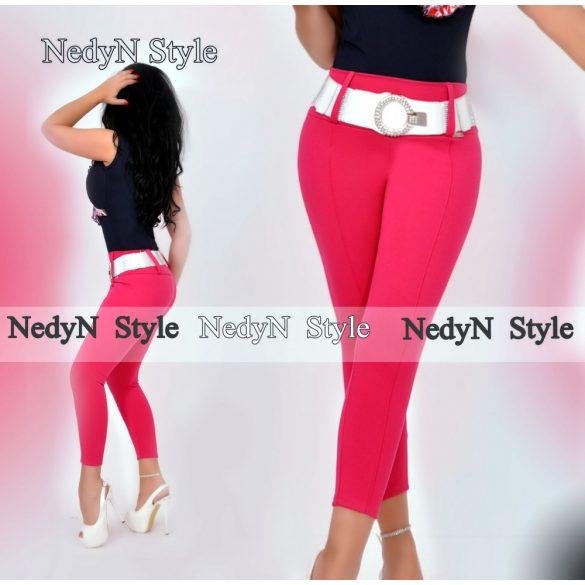 Dámske elegantné nohavice,ružové (Dámske elegantné nohavice,ružové)
