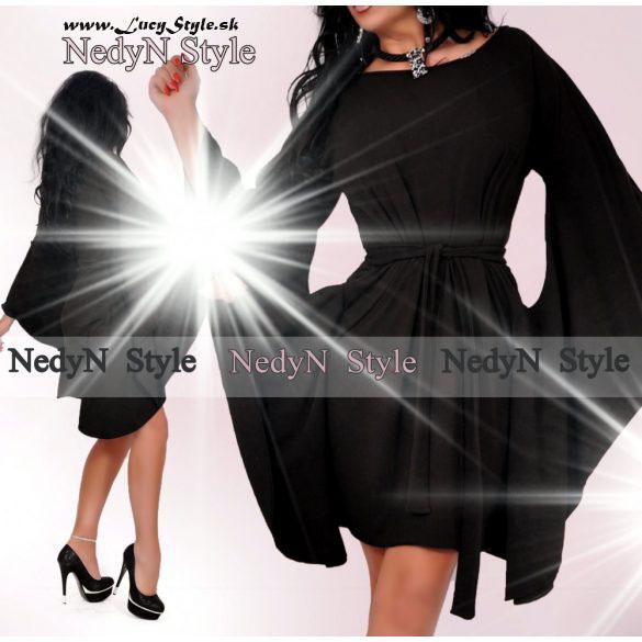 Štýlové dámske šaty čierne (Štýlové dámske šaty čierne)