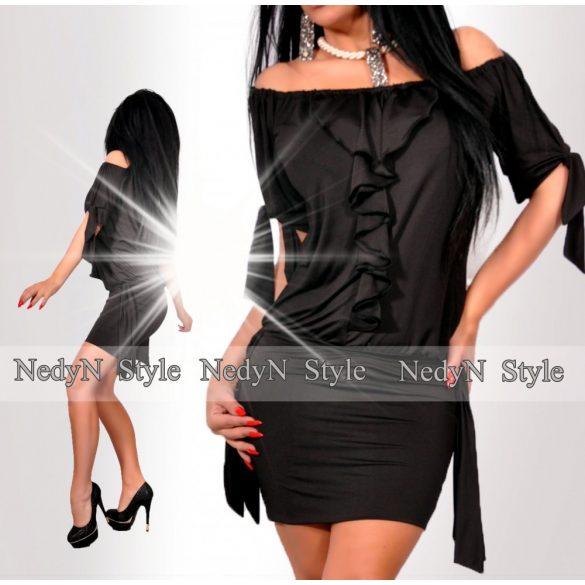 Štýlové dámske šaty (Štýlové dámske šaty,čierne)