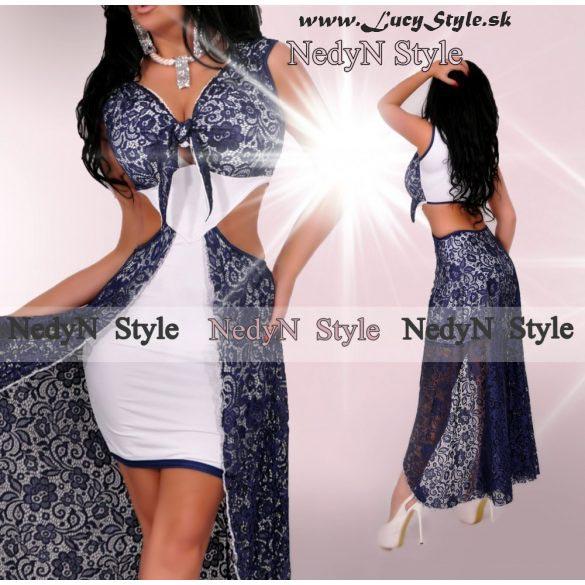 Krásne originálné dámske šaty s čipkou (Krásne originálné dámske šaty s čipkou,leto)