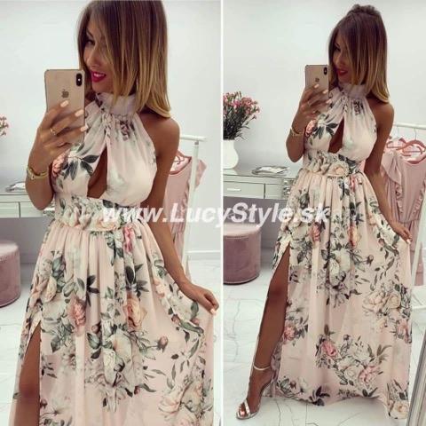 Spoločenské kvetované šaty (Spoločenské kvetované šaty)