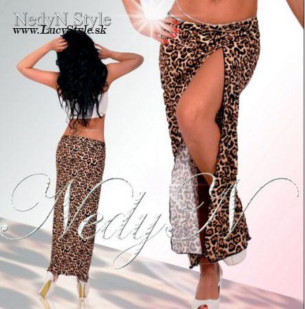 Dámska leopardia sukňa (Dámska leopardia sukňa)