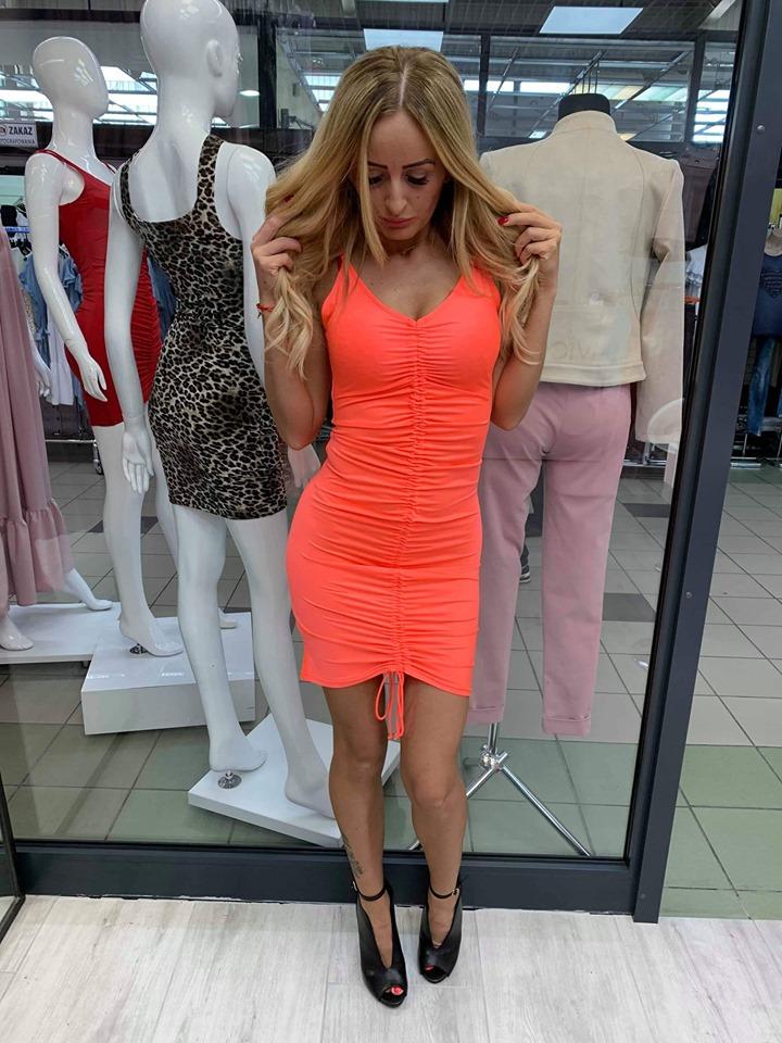 Dámske letné šaty ,neonkové (Dámske letné šaty ,neonkové)