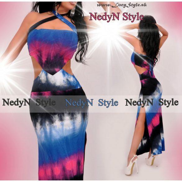 Dámske batikované maxi šaty (Štýlové dámske batikované maxi šaty )