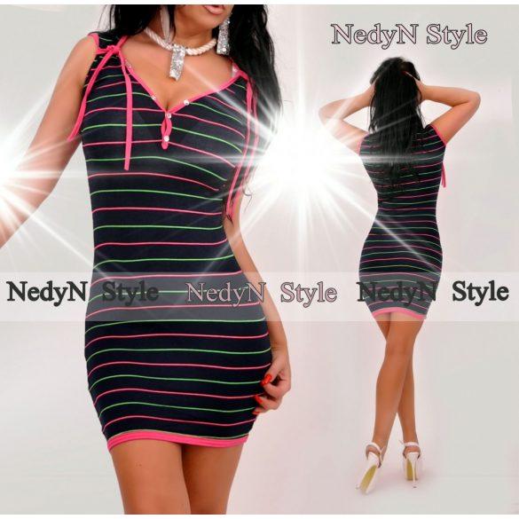 Dámske pásikavé šaty (Dámske pásikavé šaty )