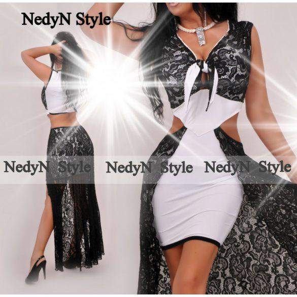 Dámske elegantné šaty (Elegantné sexy šaty s čipkou)